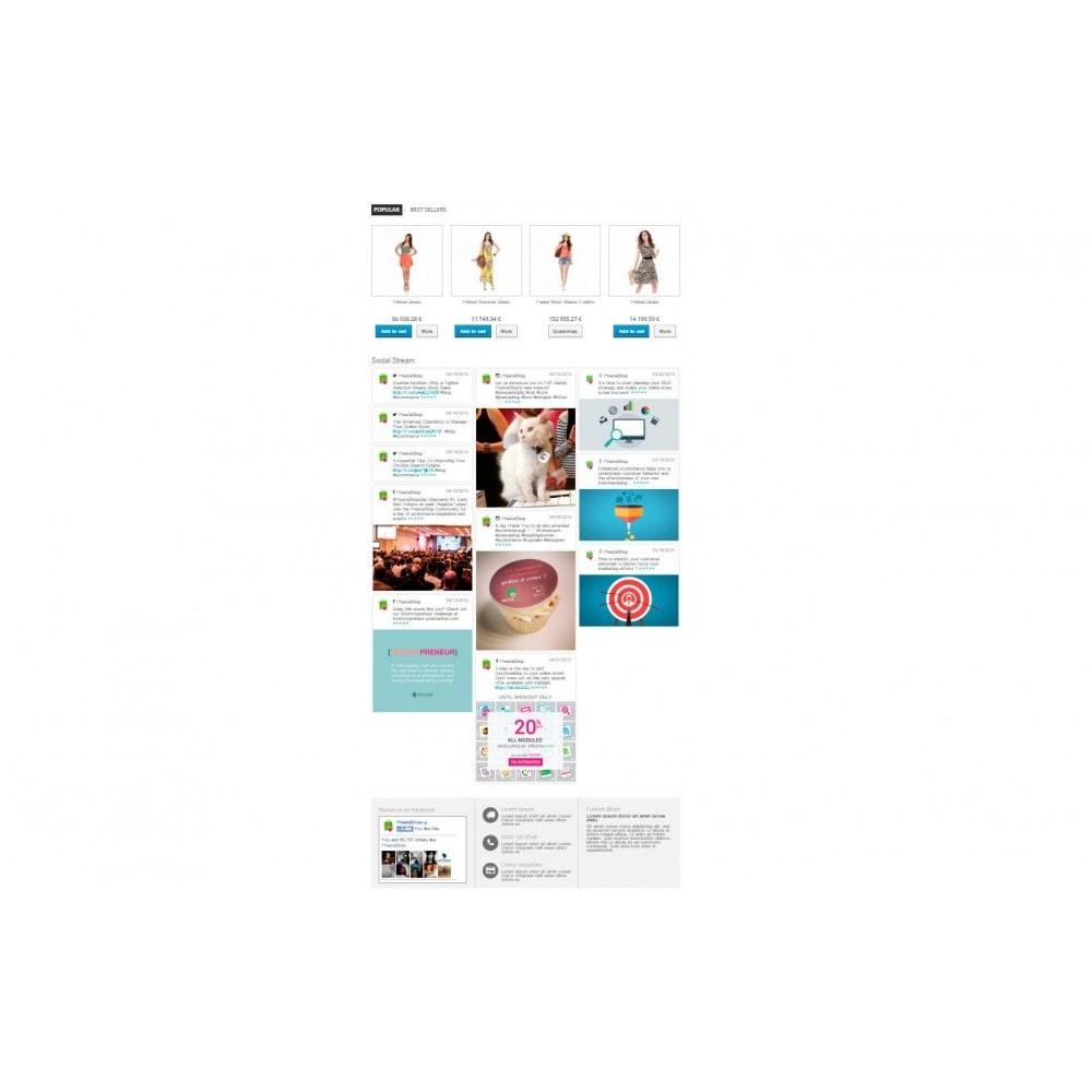 module - Widgets para redes sociales - Presta Social Stream - 5