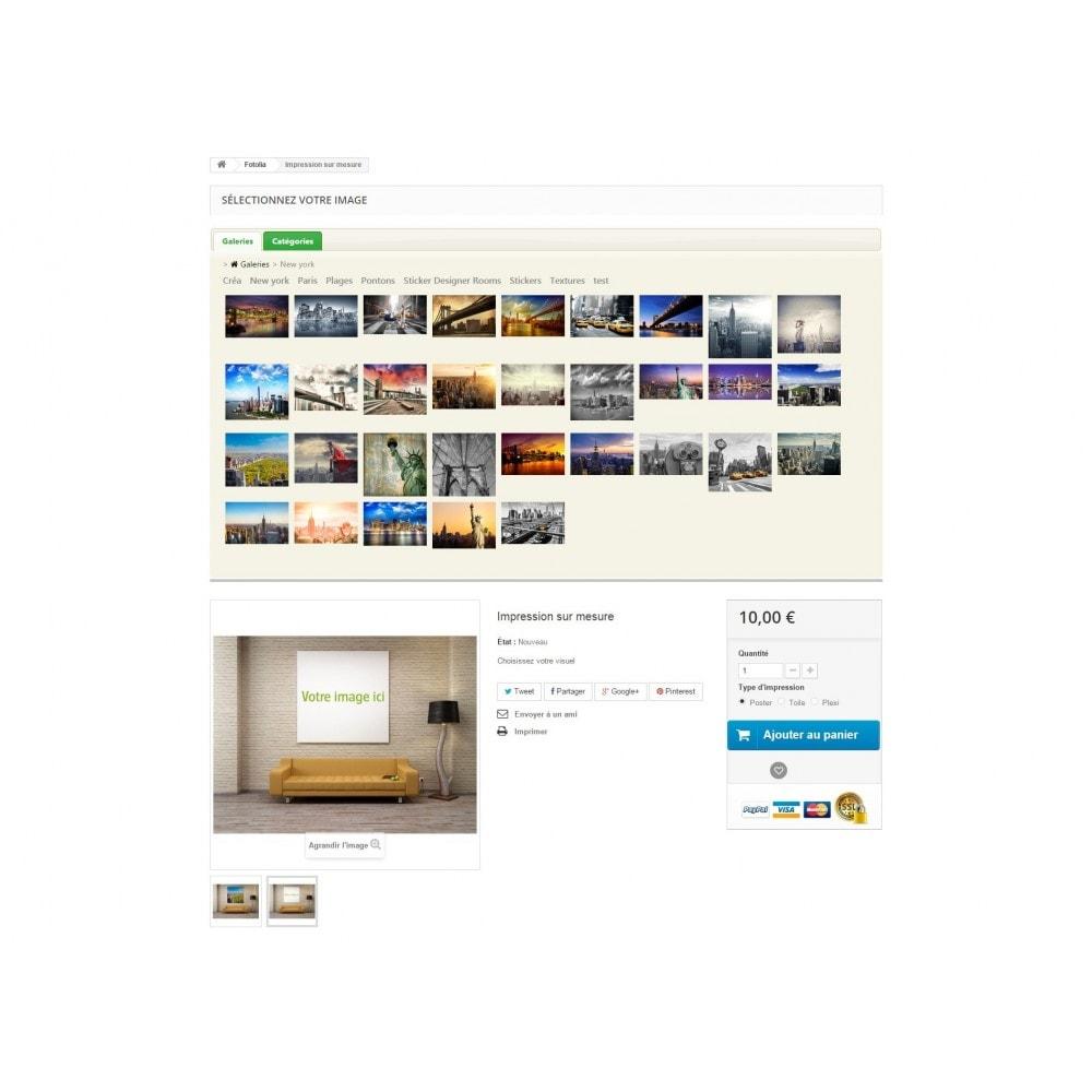 module - Fotos de productos - Fotolia Business API - 2