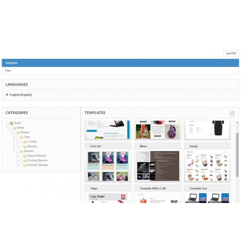 module - Importeren en Exporteren van data - Store2PDF - 1
