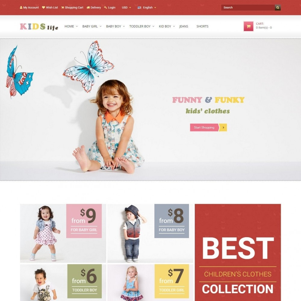 1850 clothing store website
