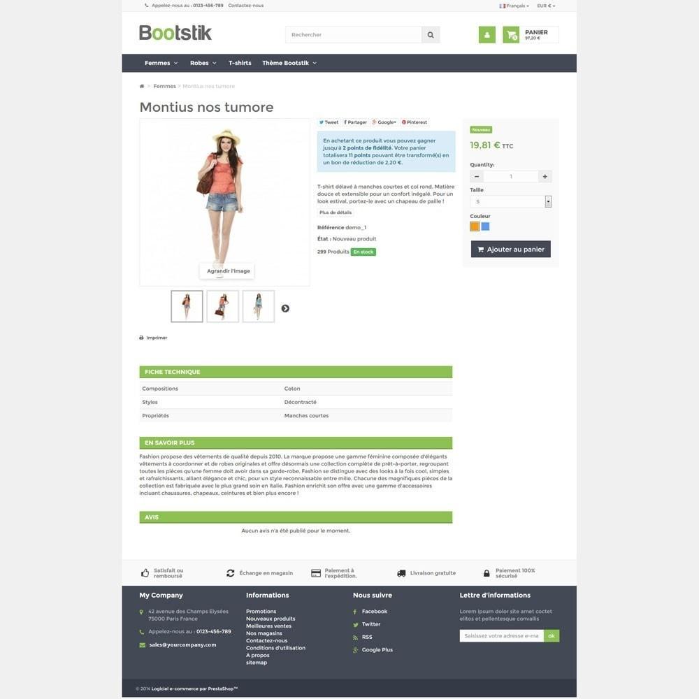 theme - Moda & Calçados - Bootstik Responsive Theme - 5