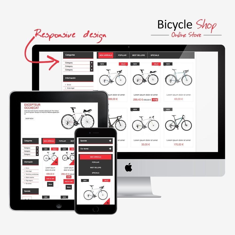 theme - Deportes, Actividades y Viajes - Bicycle Shop Online - 1