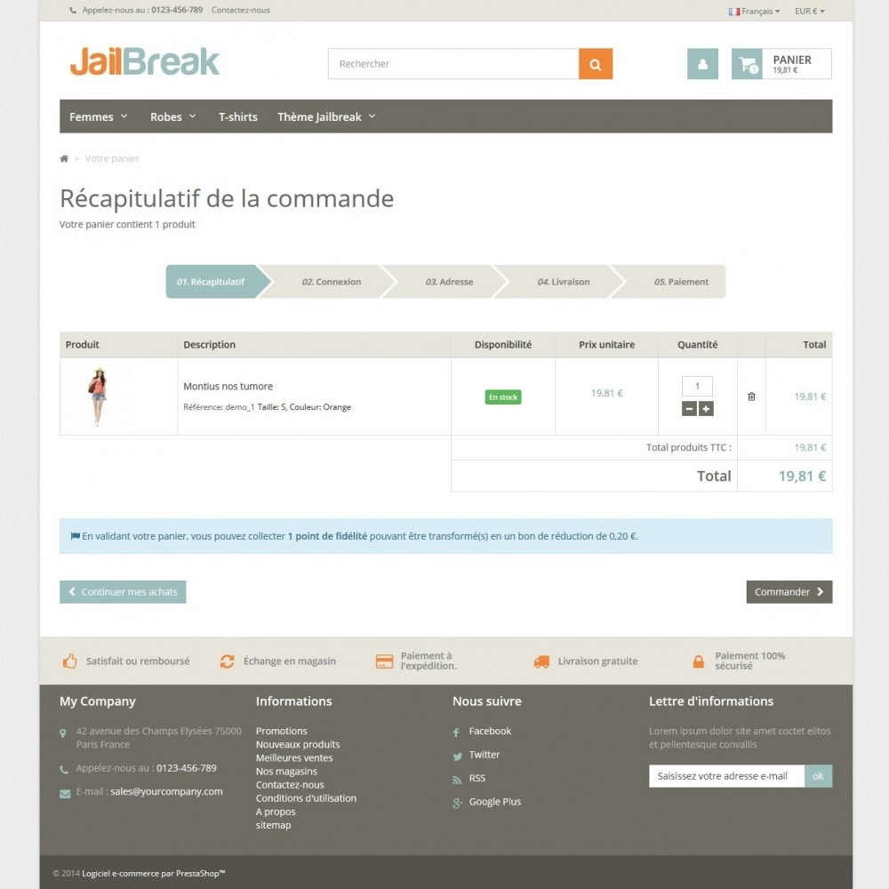 theme - Lebensmittel & Restaurants - Jailbreak Responsive - 5