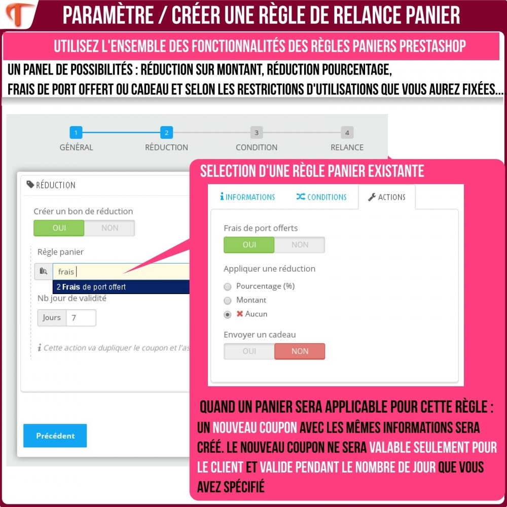 module - Remarketing & Paniers Abandonnés - Smart Cart Reminder / Relance Panier Intelligent - 22