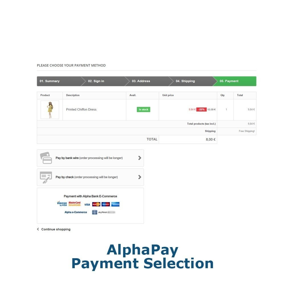 module - Payment by Card or Wallet - AlphaPay - 3