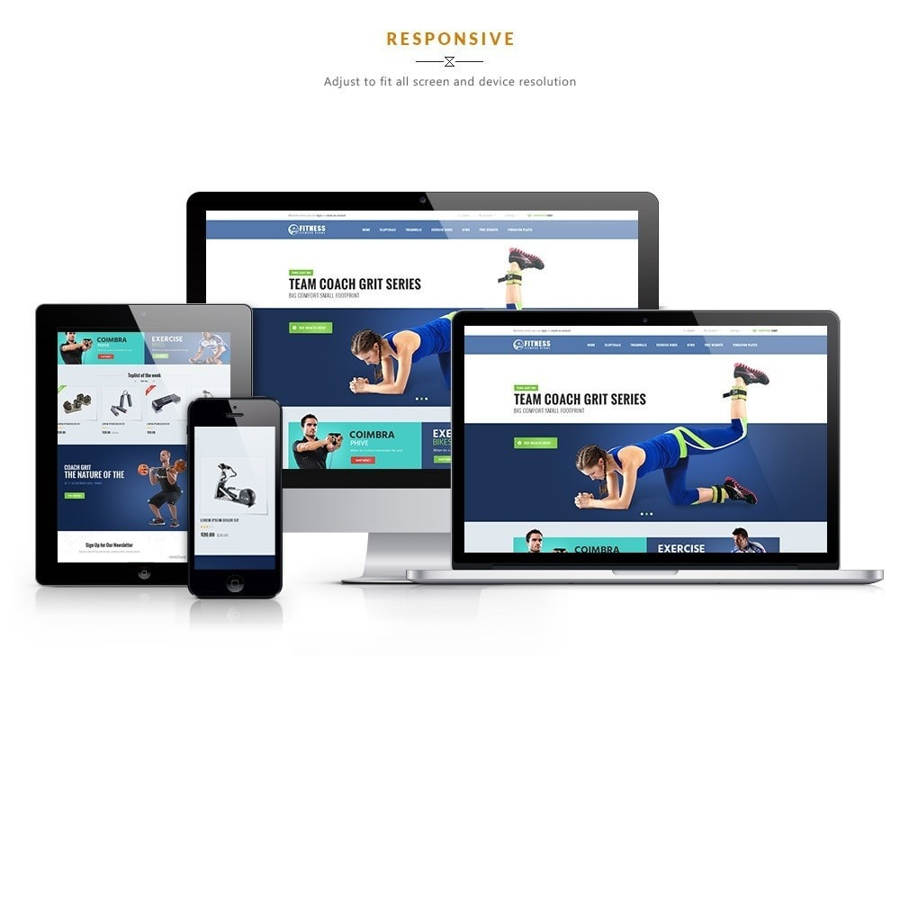 theme - Sport, Aktivitäten & Reise - Leo Fitness Store - 1