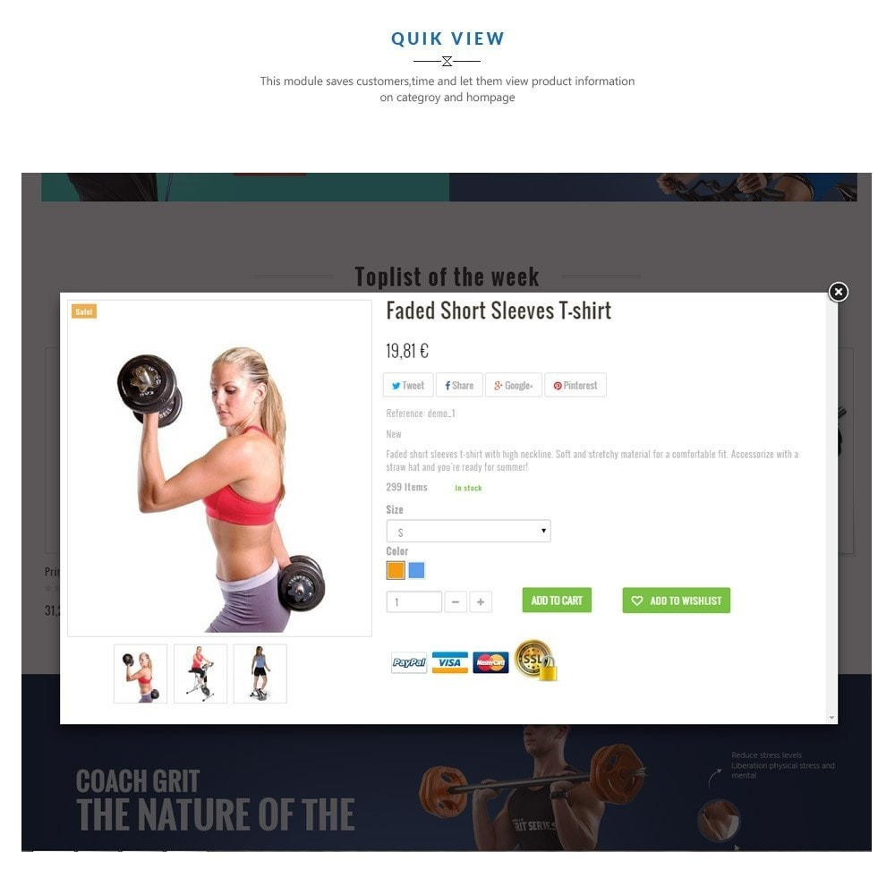 theme - Sports, Activities & Travel - Leo Fitness Store - 5
