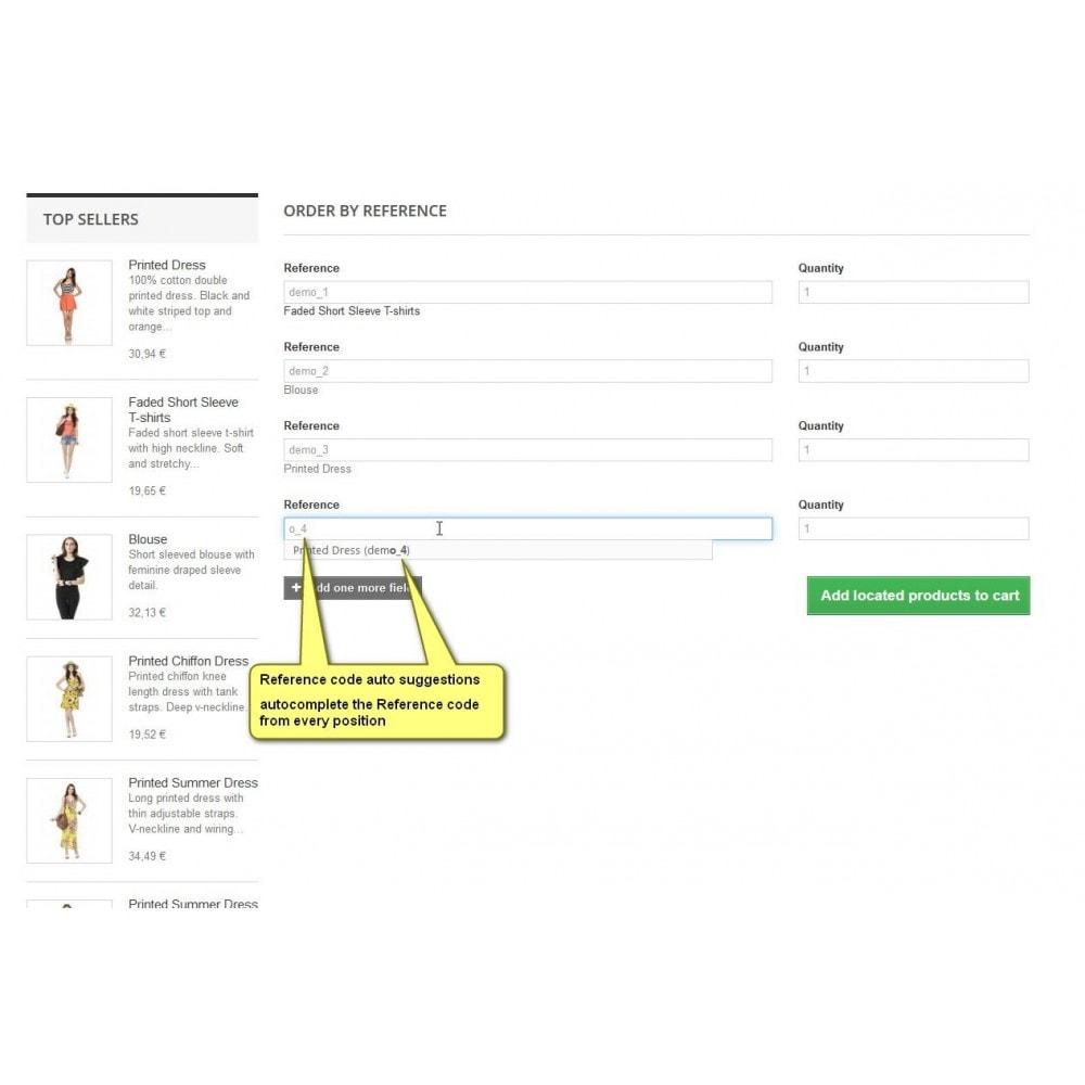 module - B2B - SKU orden: orden colectiva por número de artículo B2B - 4