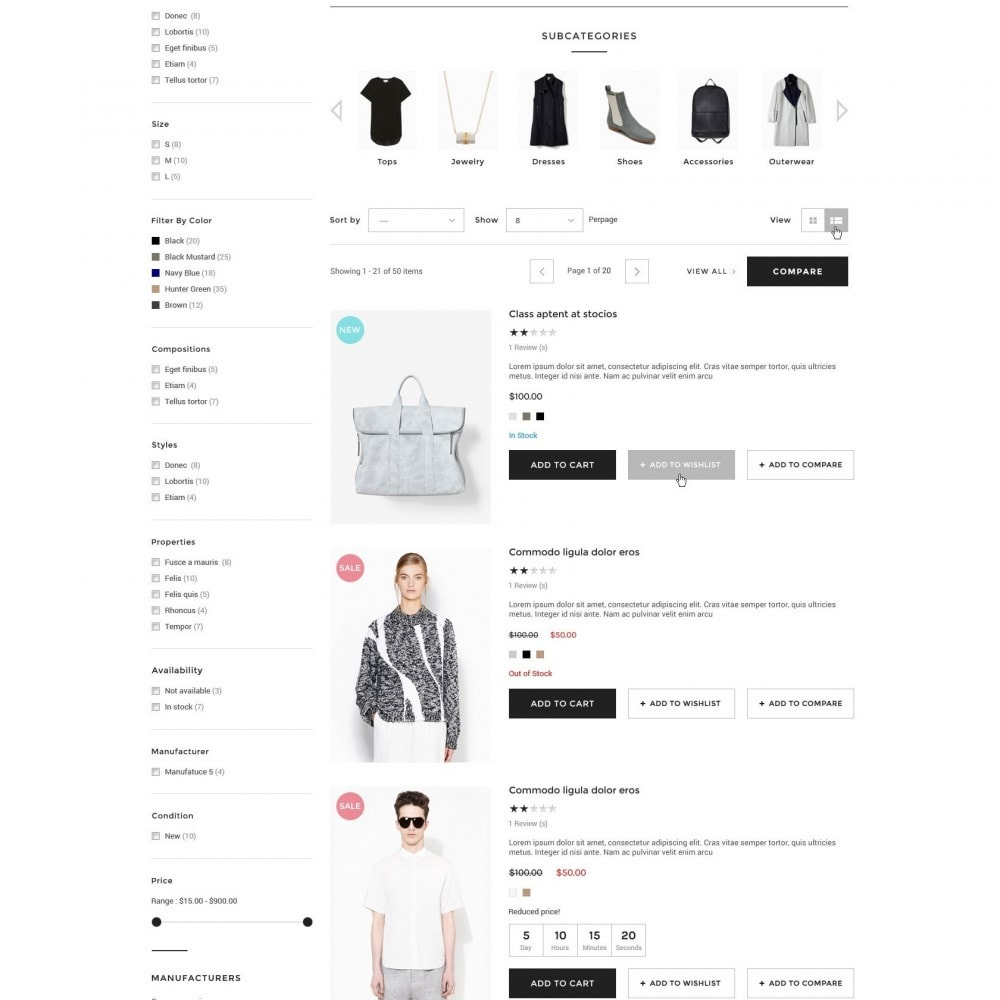 theme - Moda & Calzature - Wow - New Fashion Responsive PrestaShop - 3