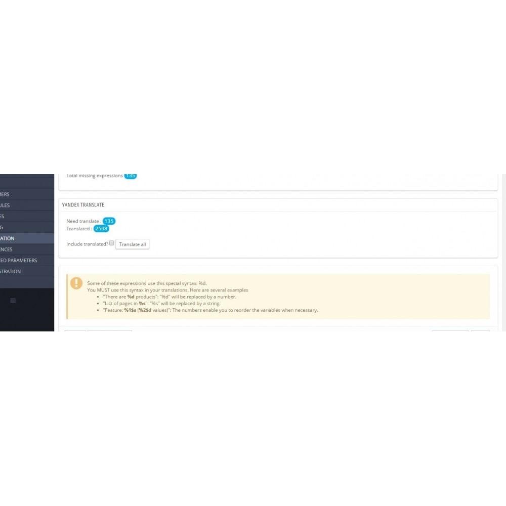 module - Международный рынок и геолокация - Яндекс Переводчик - 2
