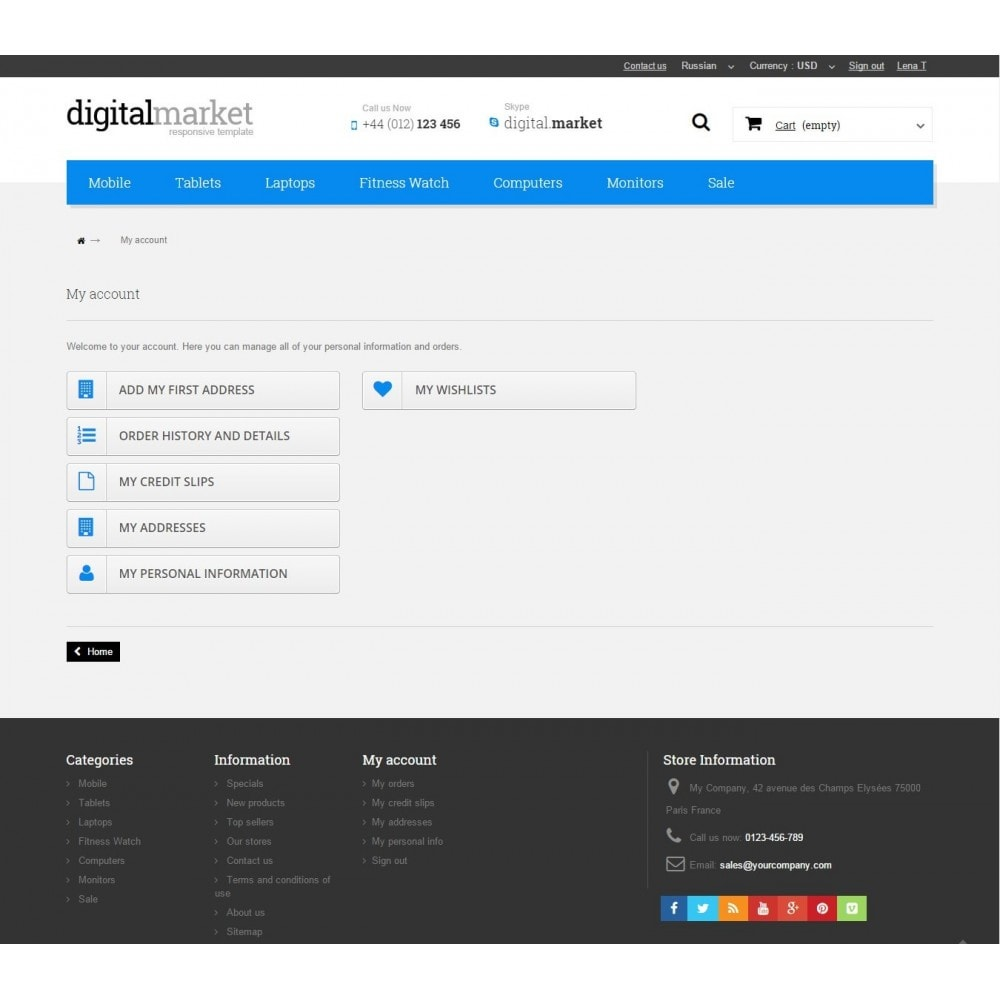 theme - Elektronik & High Tech - Digital Market Responsive Prestashop 1.6 Template - 10