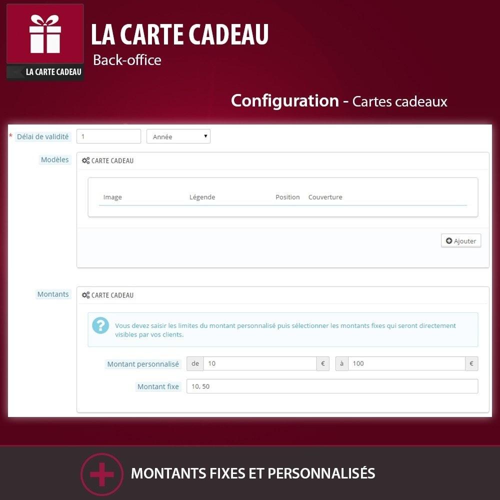 module - Liste de souhaits & Carte cadeau - La Carte Cadeau - 6
