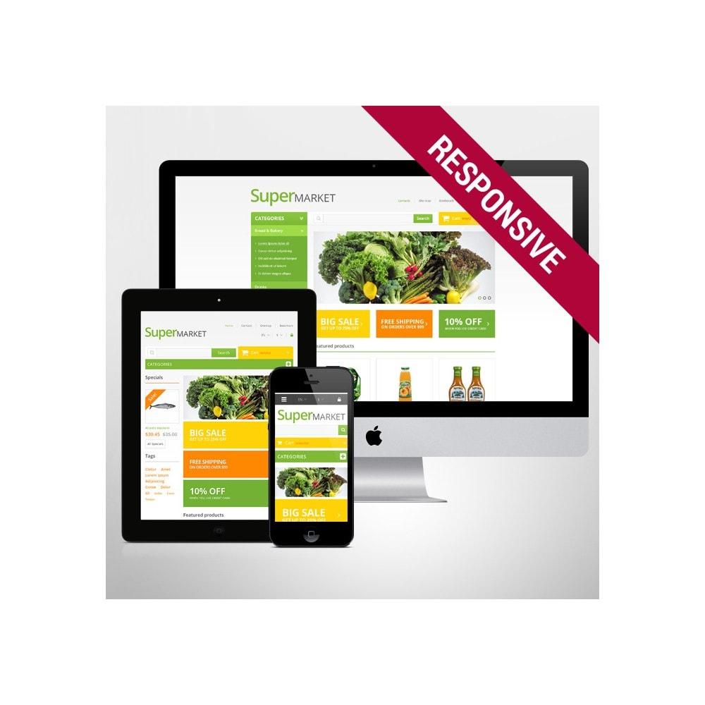 theme - Food & Restaurant - Responsive Supermarket - 6