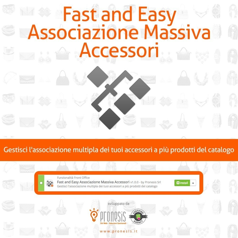 module - Modifica rapida & di massa - Fast and Easy Associazione Massiva Accessori - 1