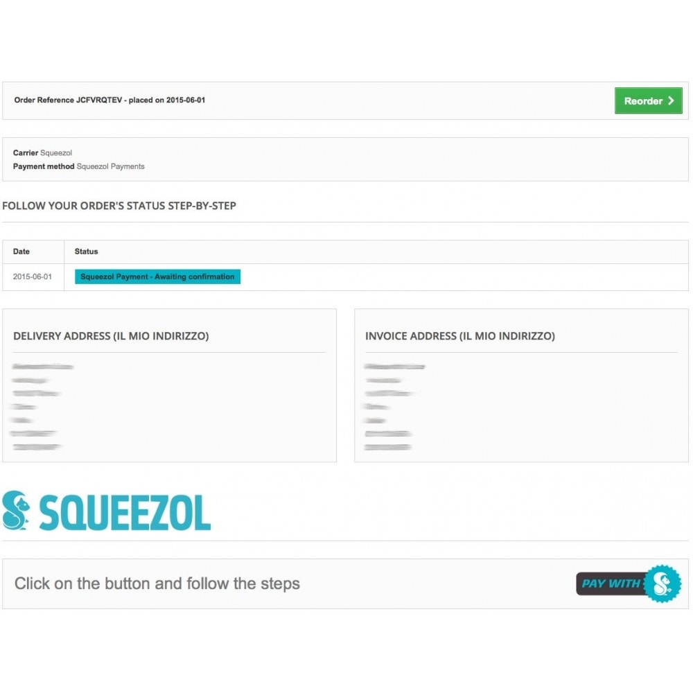 module - Autres moyens de paiement - Squeezol Split - Pay with Squeezol(split with friends) - 8