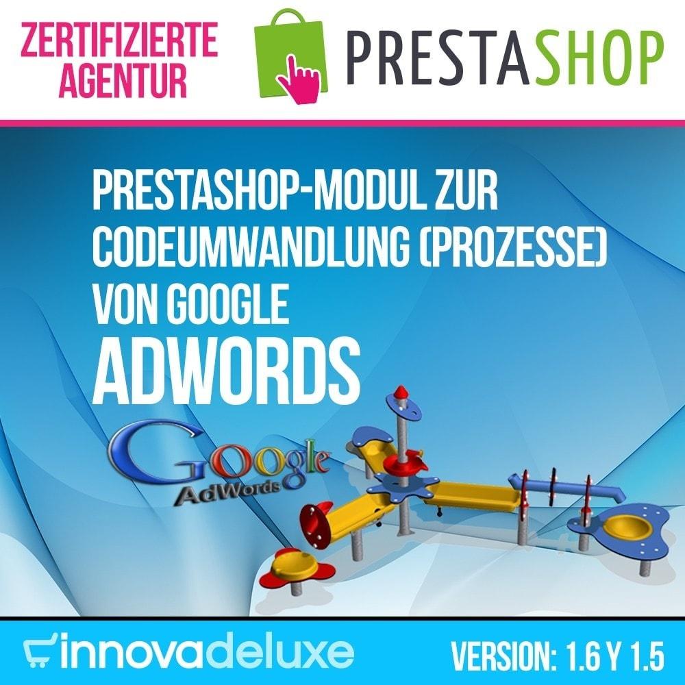 module - SEA SEM (Bezahlte Werbung) & Affiliate Plattformen - Google Adwords Wandlungsprozesse - 1
