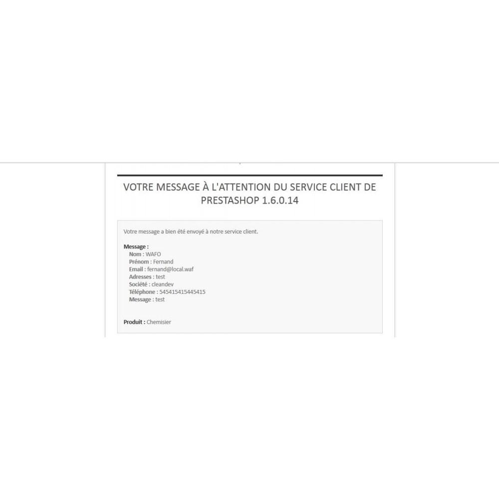 module - Formulaires de Contact & Sondages - Renseignements, questions, devis sur un produit - 5