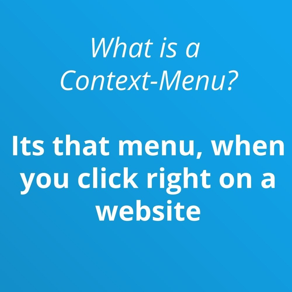 module - Menü - Front-End Context Menu Pro - 4