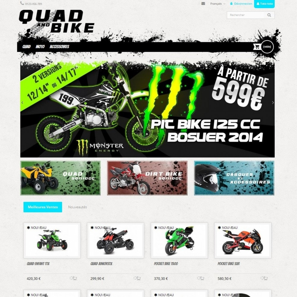 theme - Auto's & Motoren - Quad and Bike - 2