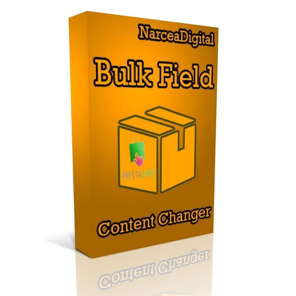module - Snelle & seriematige bewerking - Bulk Field Content Changer - 1