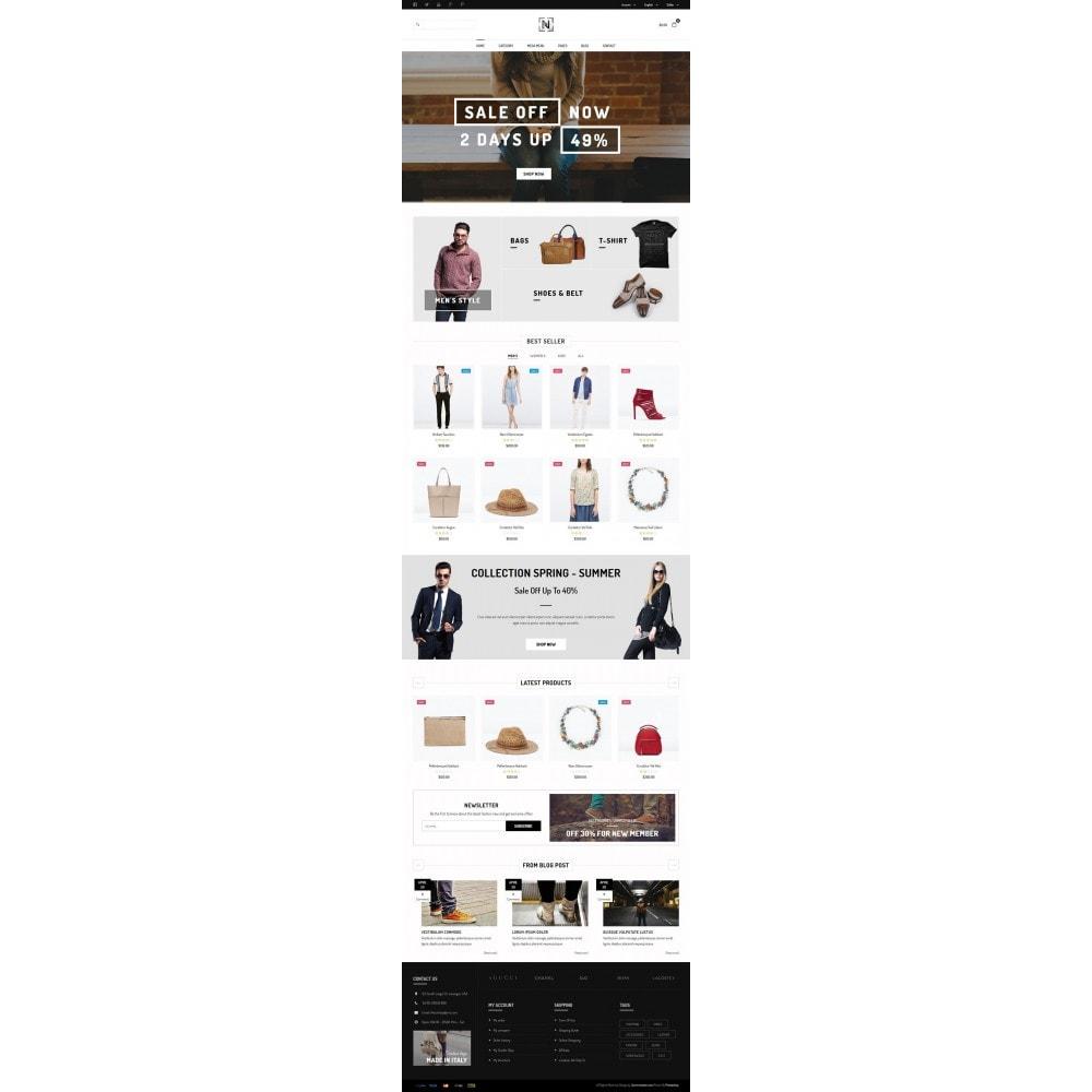 theme - Мода и обувь - JMS Notus - 2