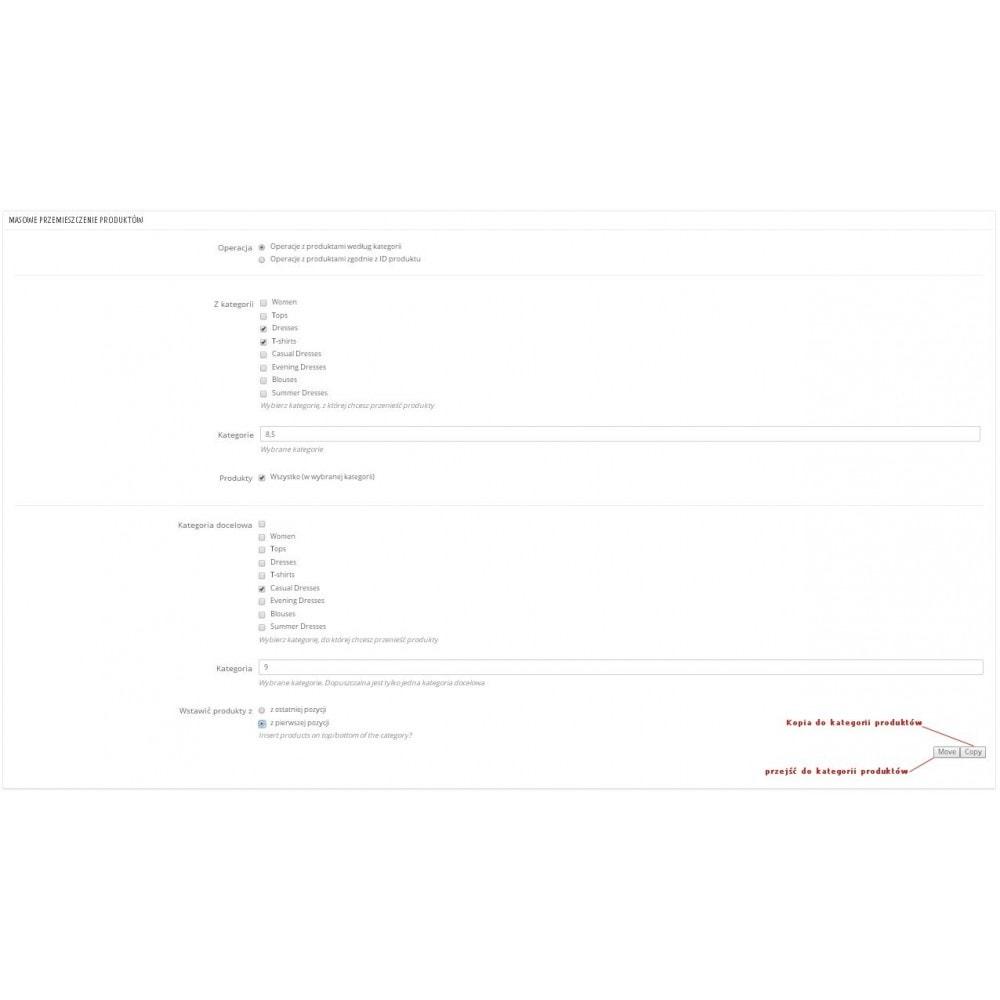 module - Szybkie & Masowe edytowanie - Masowe przemieszczenie produktów pomiędzy kategoriami - 1