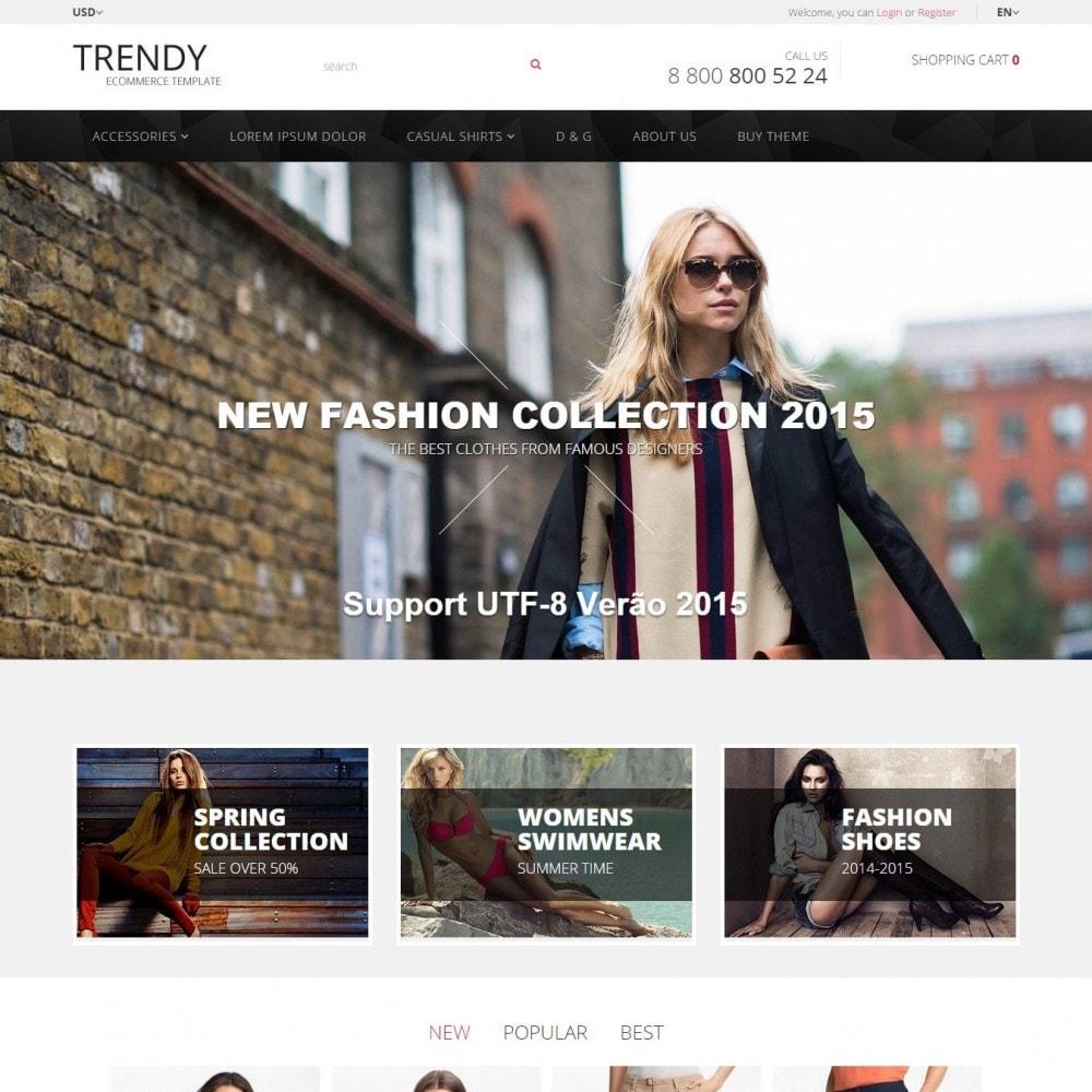theme - Мода и обувь - Trendy - Магазин Модной Одежды - 2