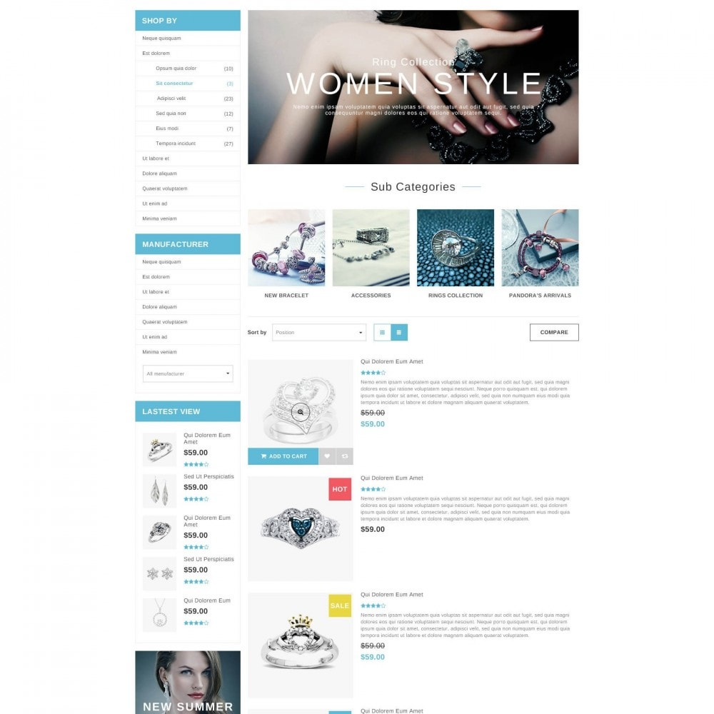 theme - Biżuteria & Akcesoria - ET Accessories - Responsive Beauty & Jewelry PrestaShop - 3