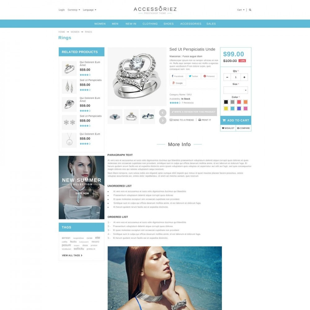 theme - Jewelry & Accessories - ET Accessories - Responsive Beauty & Jewelry PrestaShop - 4