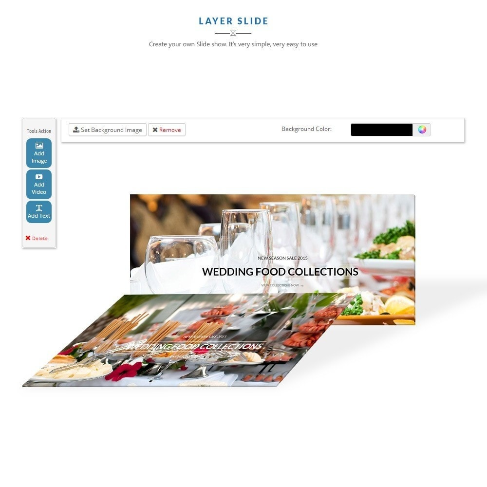 theme - Alimentos & Restaurantes - Leo Food Collection - 2