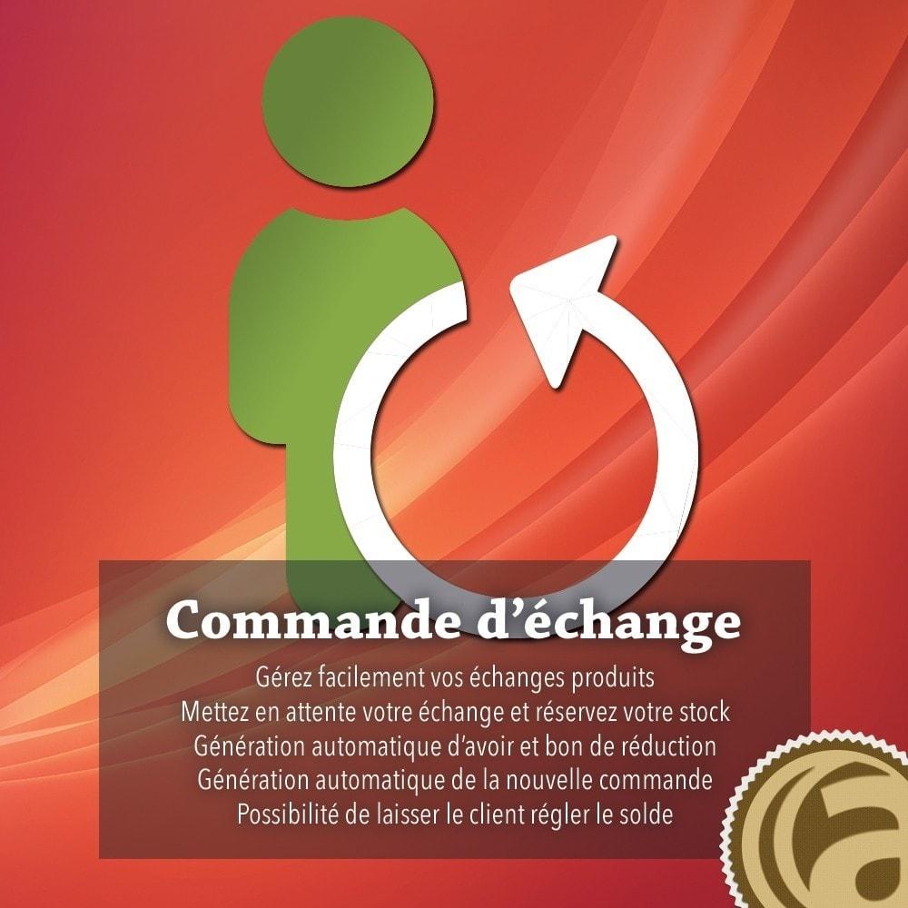 module - Service Client - Retour et échange produit - 1