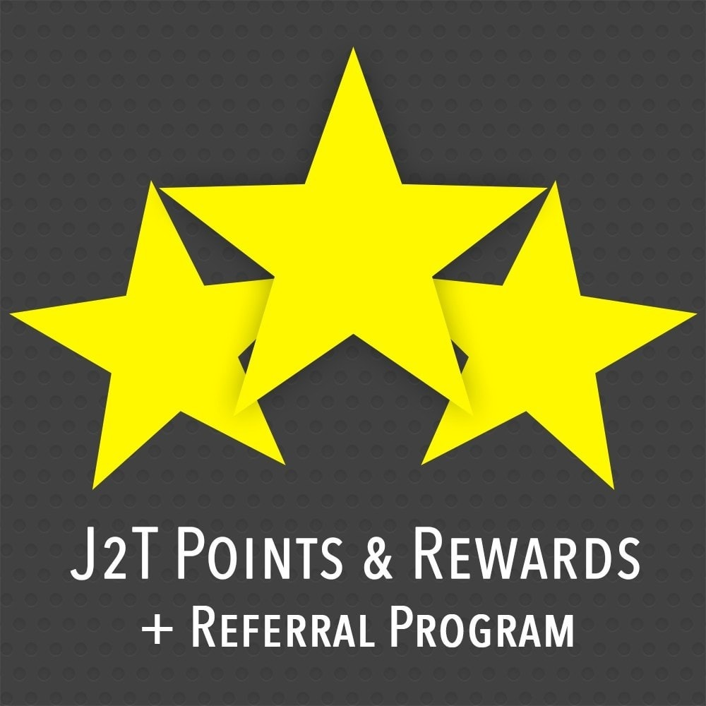 module - Fidélisation & Parrainage - J2T Point & Rewards + Referral Program - 1