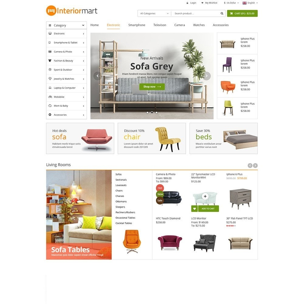 theme - Дом и сад - Funismart - Furniture Store - 2