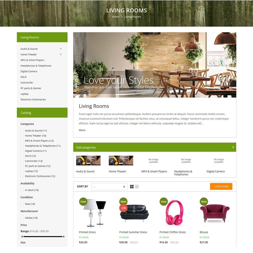 theme - Home & Garden - Funismart - Furniture Store Responsive PrestaShop - 3