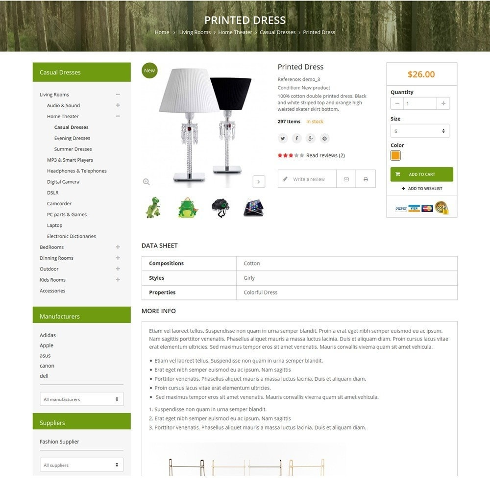 theme - Casa & Jardins - Funismart - Furniture Store - 4