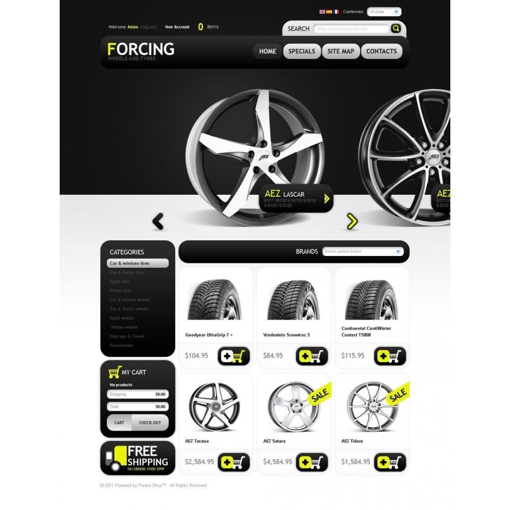theme - Automotive & Cars - Wheels & Tires - 4