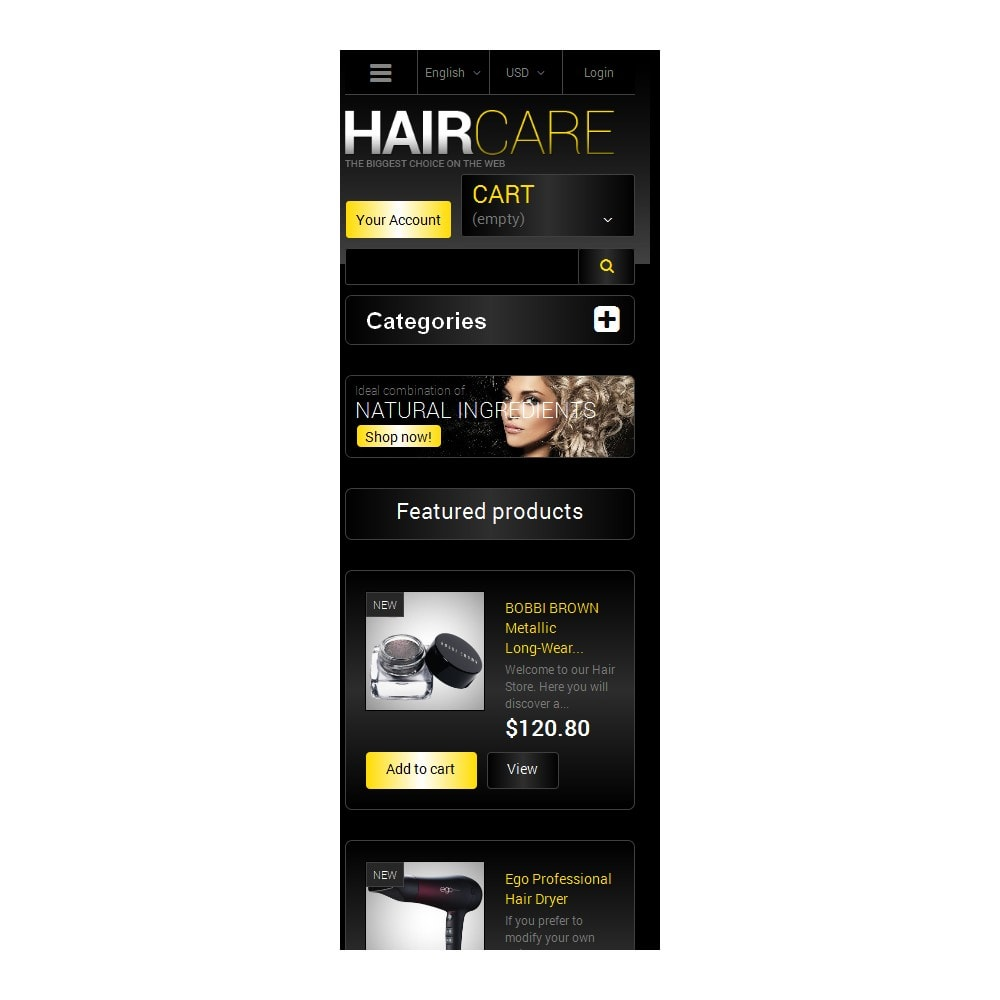 theme - Joalheria & Acessórios - Best Care for Your Hair - 6