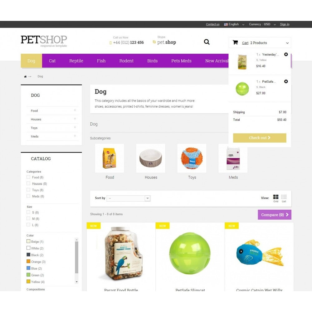theme - Dieren - Pet Shop - 6