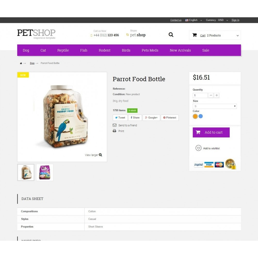 theme - Animais - Pet Shop - 8