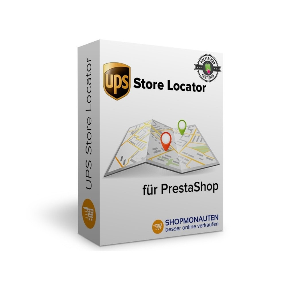 module - Point Relais & Retrait en Magasin - UPS Store Locator - 1