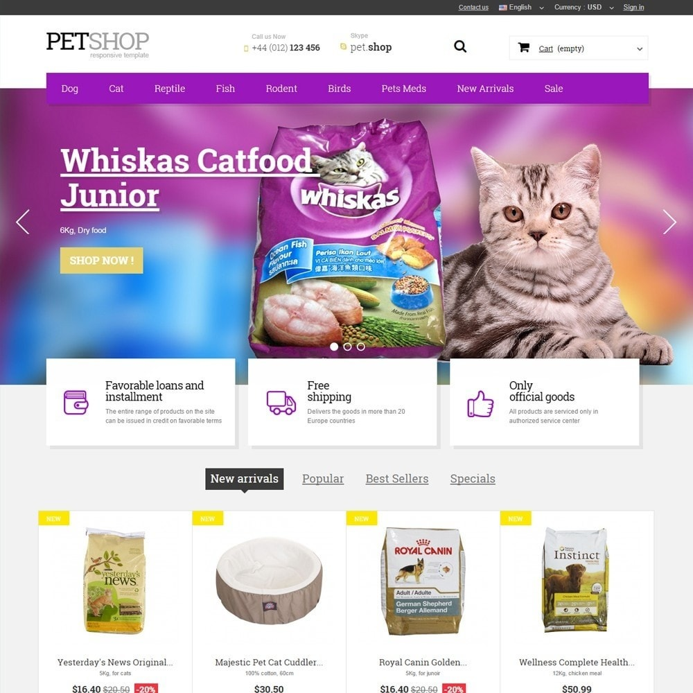 theme - Animais - Pet Shop - 1