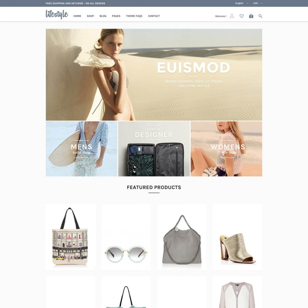 theme - Biżuteria & Akcesoria - A Responsive Genesis PrestaShop - LifeStyle - 1