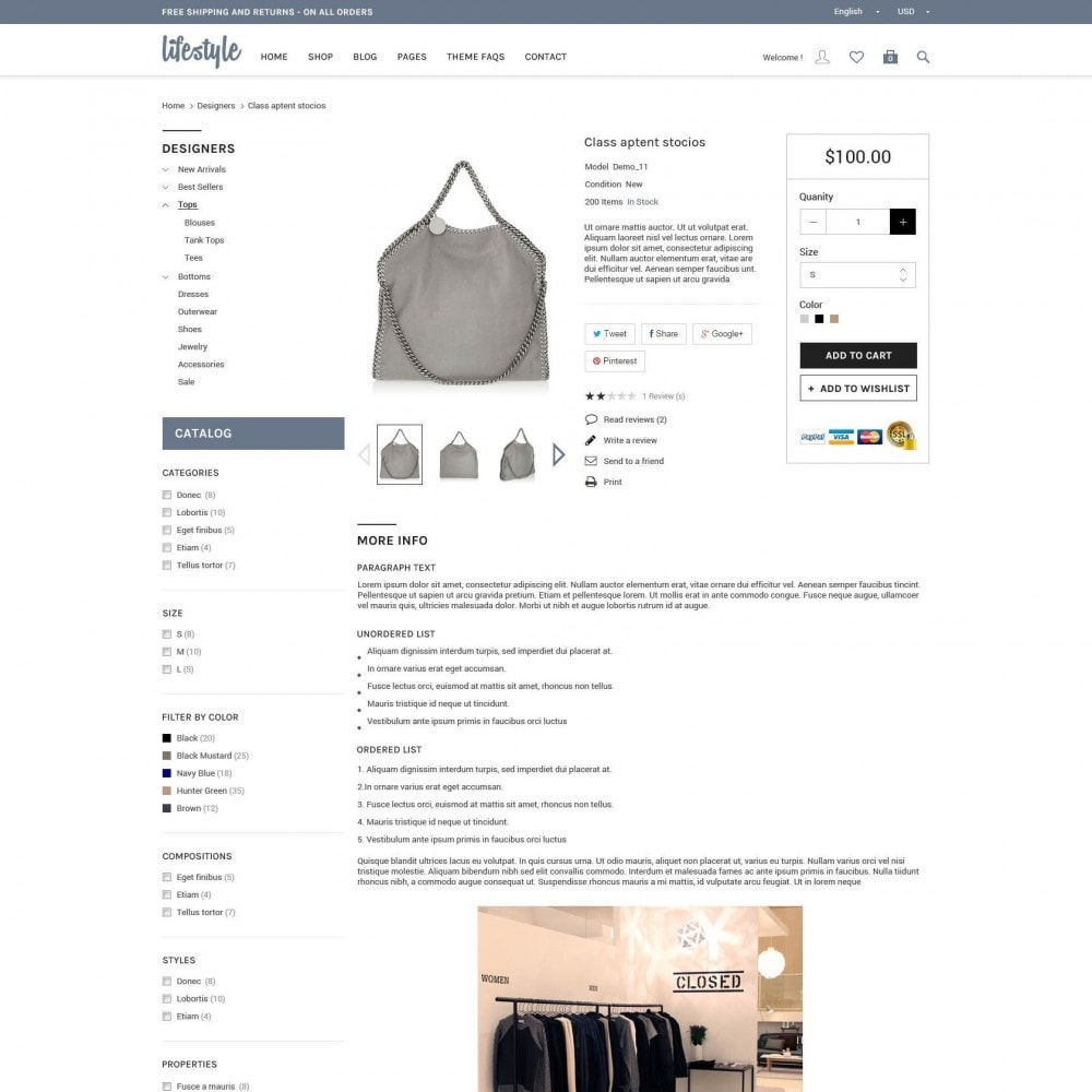 theme - Biżuteria & Akcesoria - A Responsive Genesis PrestaShop - LifeStyle - 3