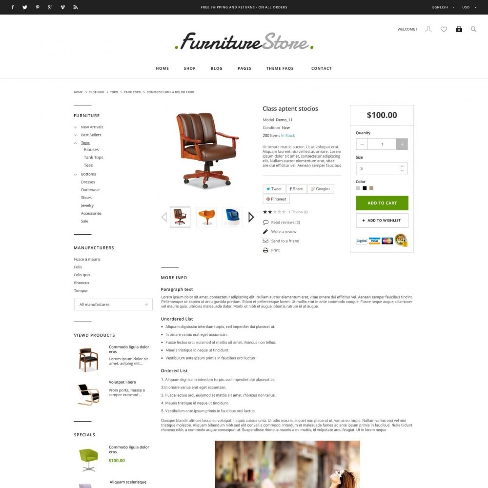 theme - Heim & Garten - ET Furniture - Soffa & Bussiness PrestaShop Theme - 4
