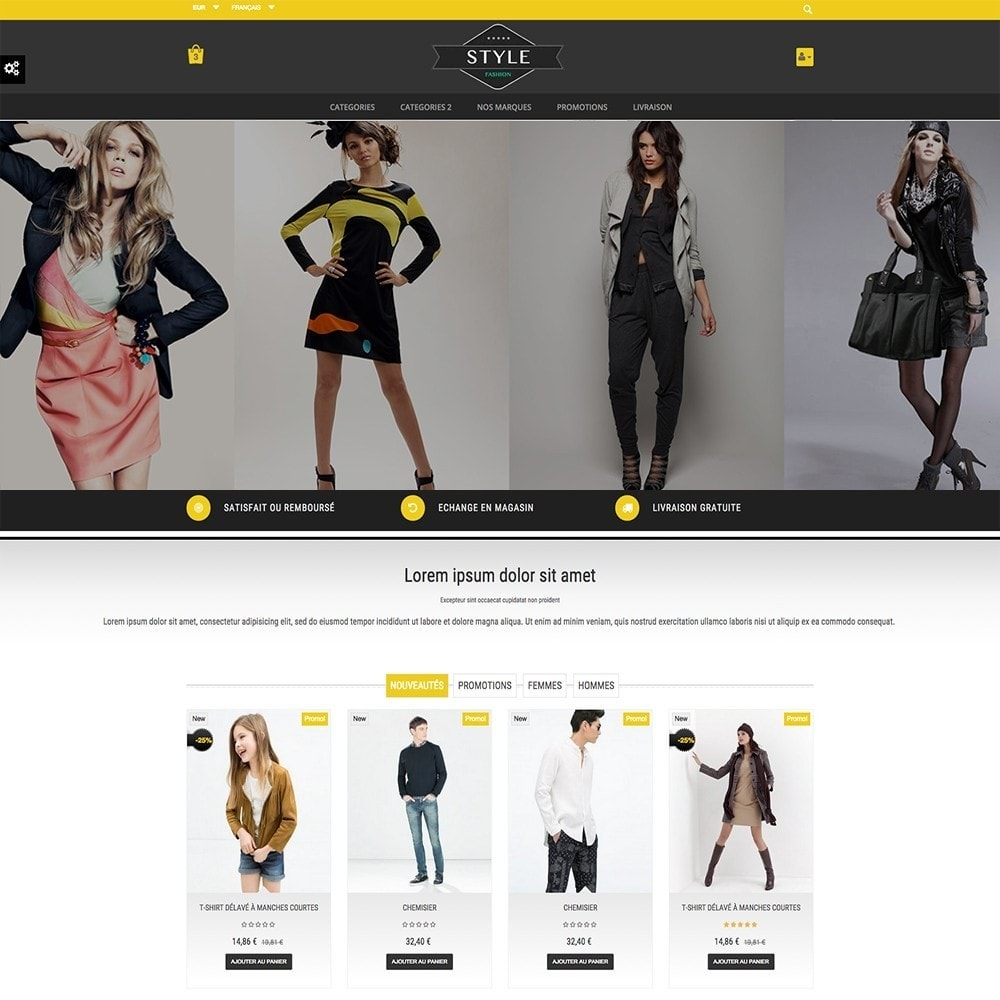 theme - Moda y Calzado - STYLE-FASHION - 4
