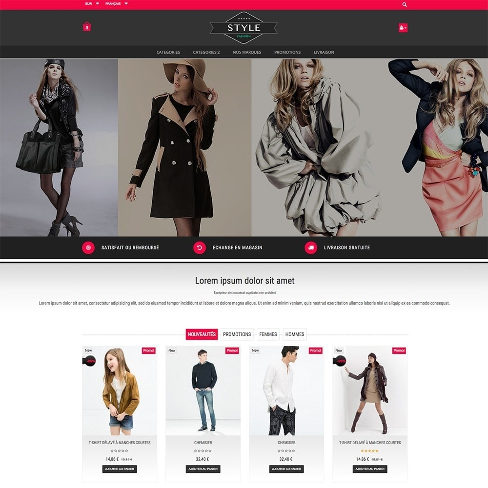 theme - Moda y Calzado - STYLE-FASHION - 7