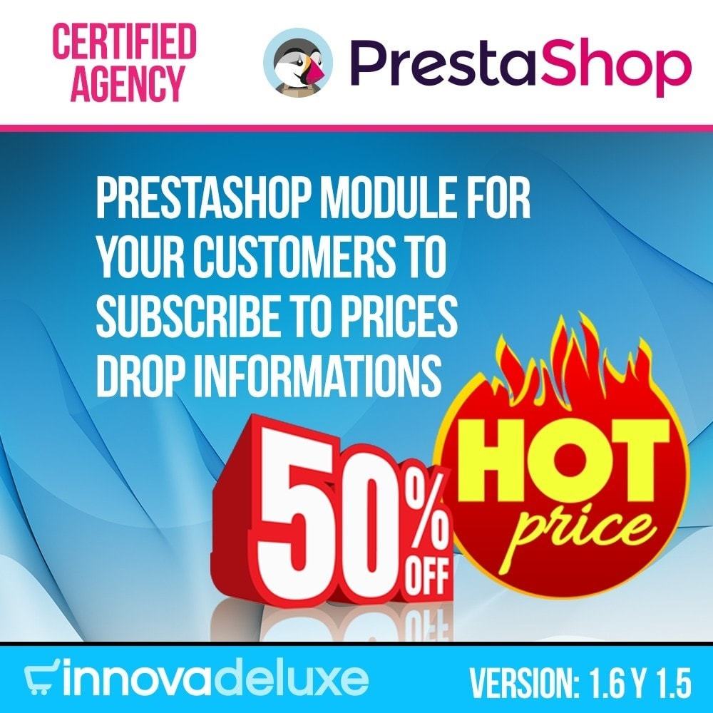 module - Emails & Notificaties - Alert for subscription to price drops - 1