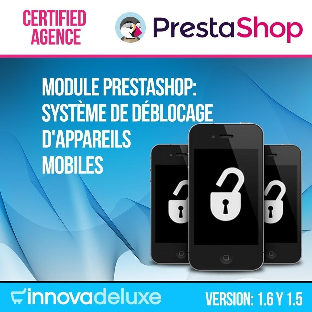 module - Formulaires de Contact & Sondages - Système de déblocage d'appareils mobiles - 1
