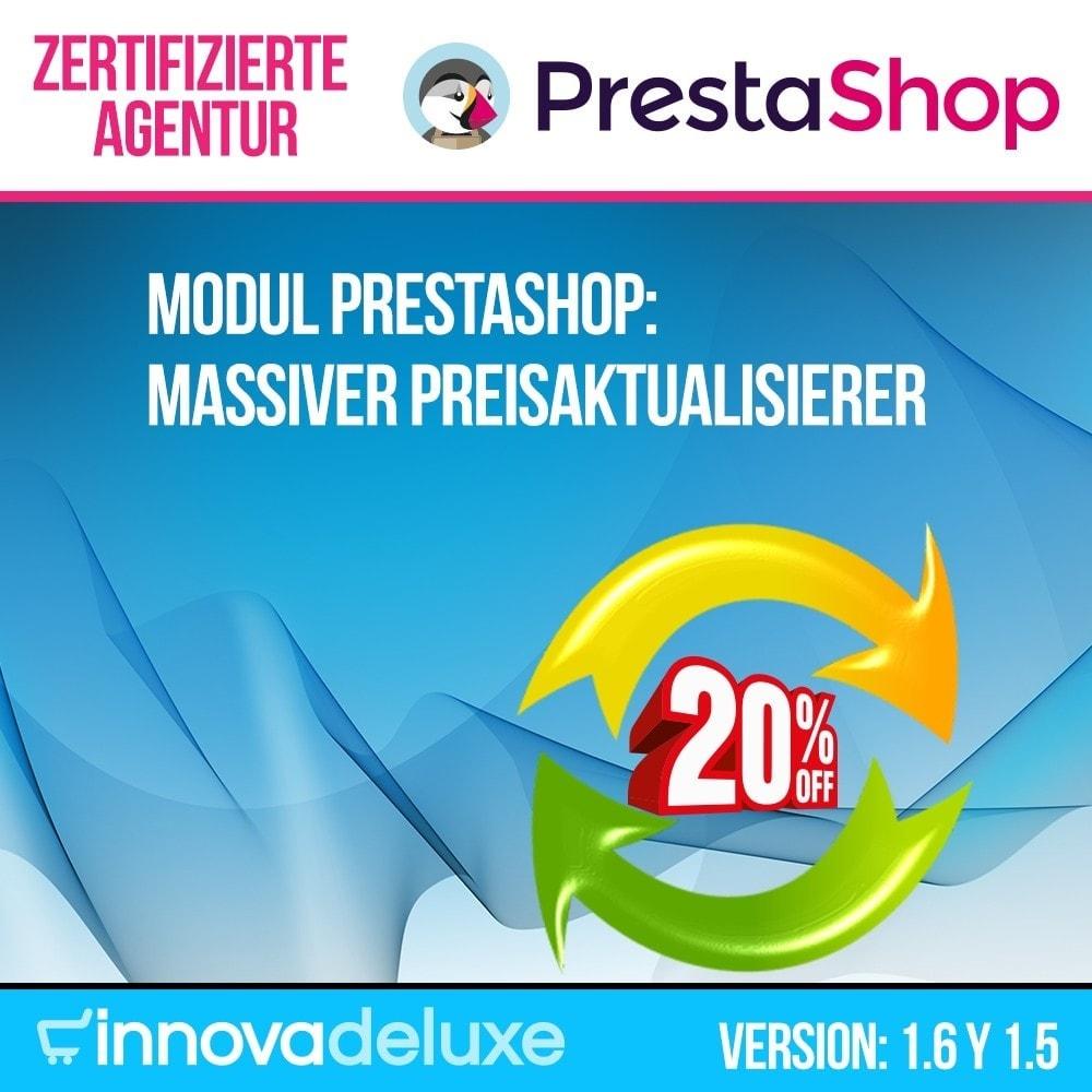 module - Quick Eingabe & Massendatenverwaltung - Massiver Preisaktualisierer - 1
