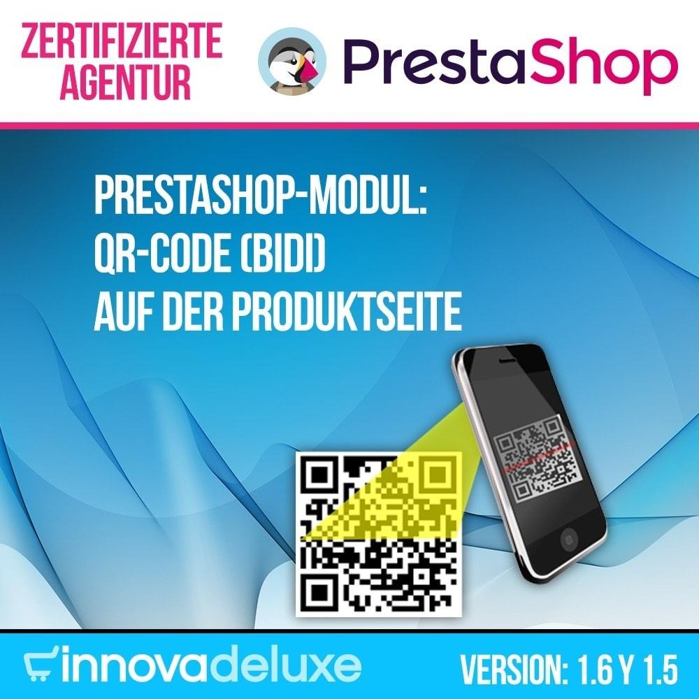 module - Mobile Endgeräte - QR-Code auf der Produktseite (BIDI) - 1